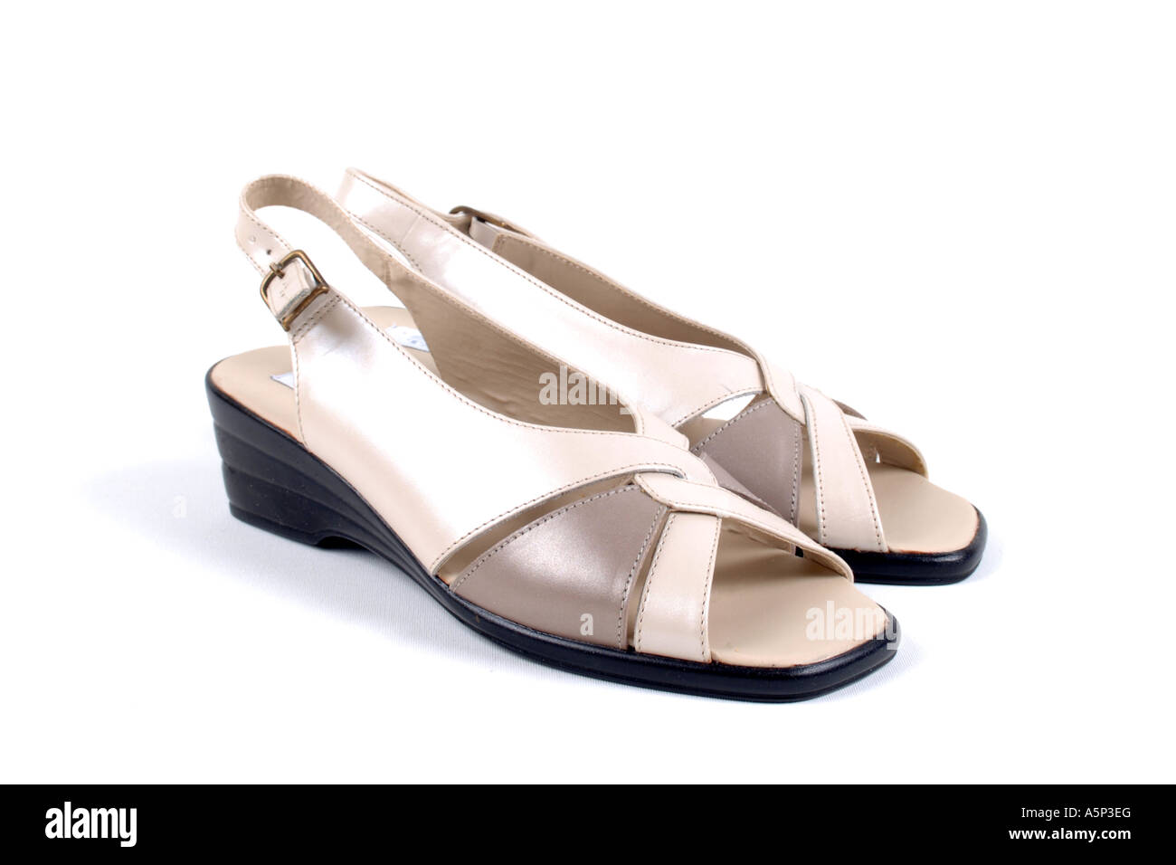 Informal womens wedge heel shoes Stock Photo  11359767 - Alamy 1d36db1499
