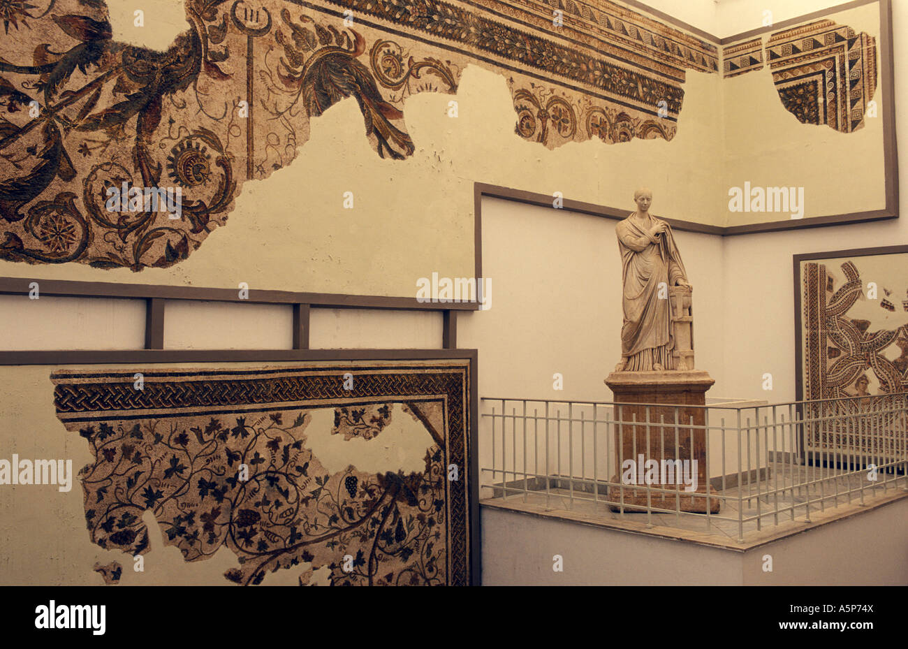Bardo museum Tunis Tunisia Stock Photo