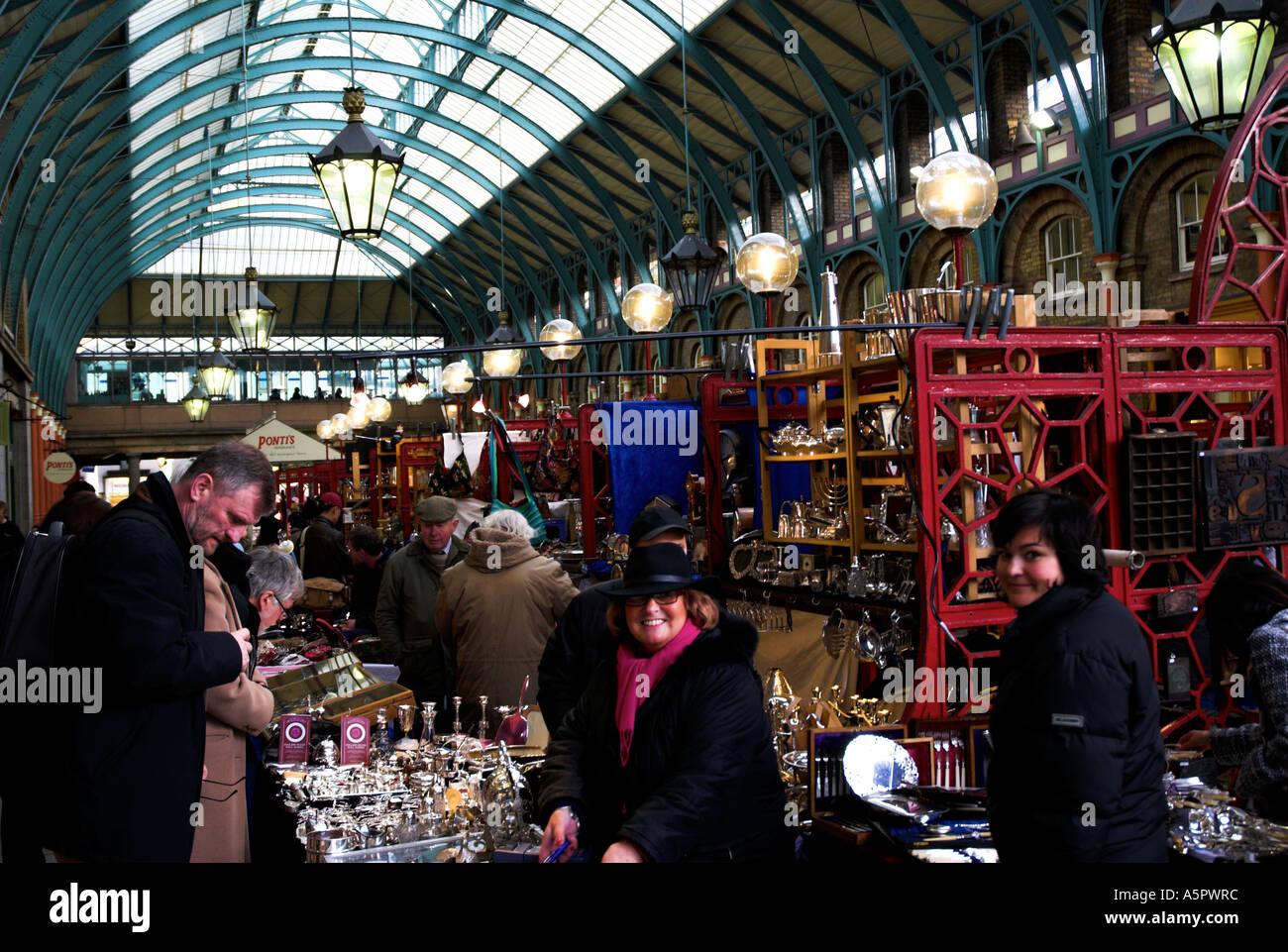 b8a6816749 Covent Garden Antique Market Covent Garden Area London Stock Photo ...