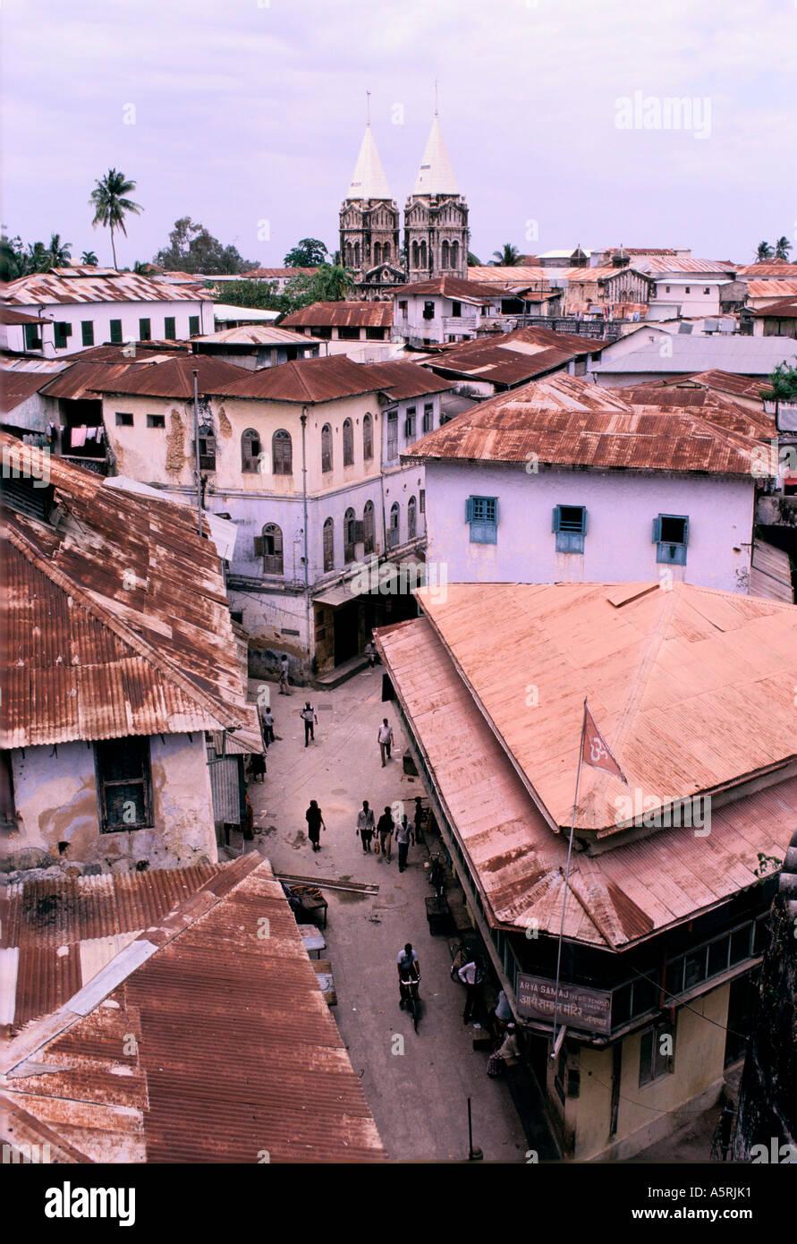zanzibar island buildings east africa stock photo 6499504 alamy