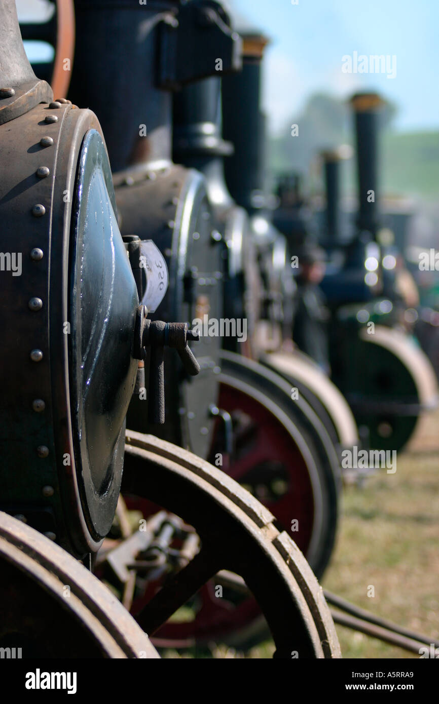 Traction Engines - Stock Image