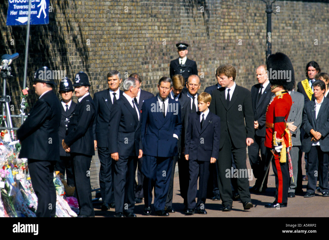 FUNERAL OF DIANA PRINCESS OF WALES Stock Photo - Alamy