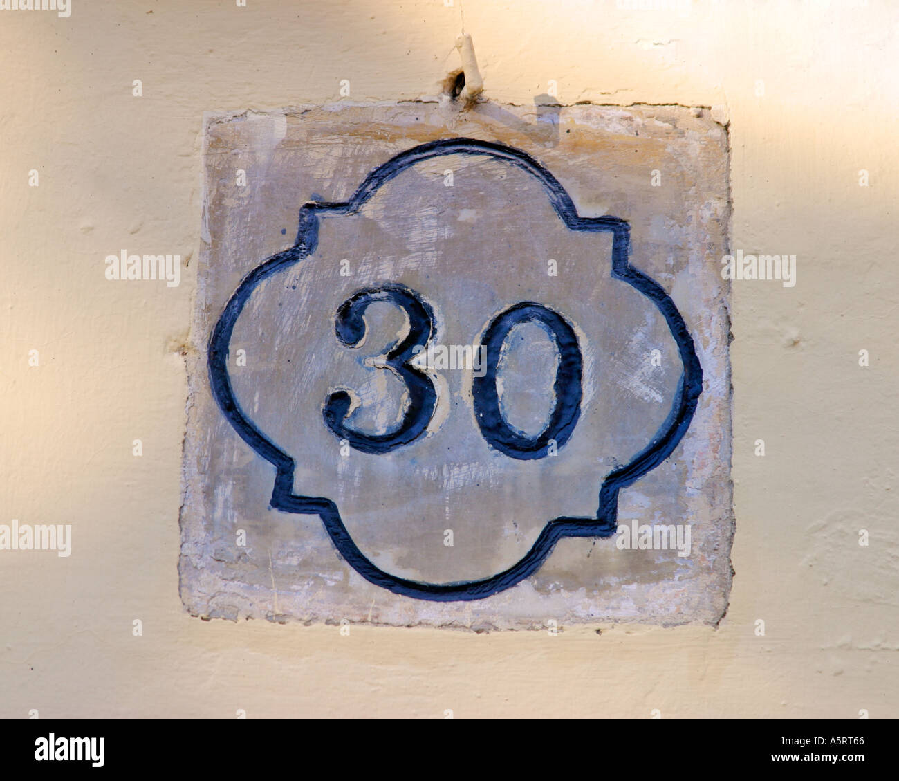 Number 30 - Stock Image