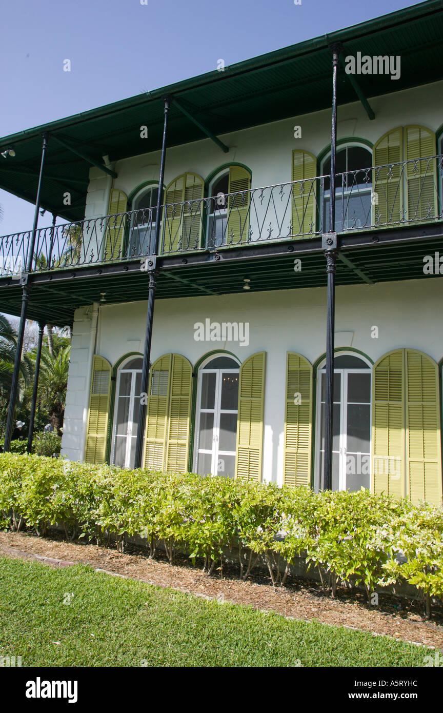 Ernest Hemingway Residence Key West Florida Stock Photo