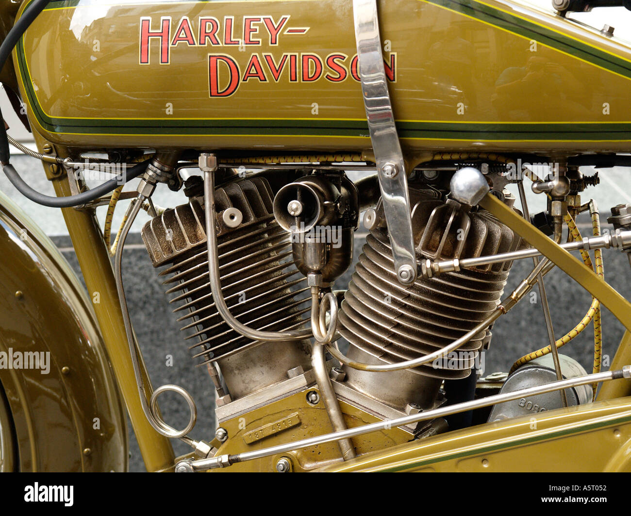 motorcycle engine classic stock photos \u0026 motorcycle engine classicdetail of a very old classic harley davidson motorcycle showing the famous v twin engine layout
