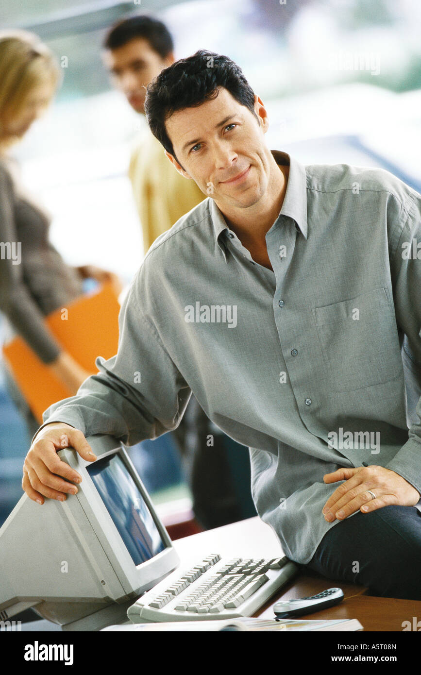 Arm Resting On Knee Stock Photos Amp Arm Resting On Knee