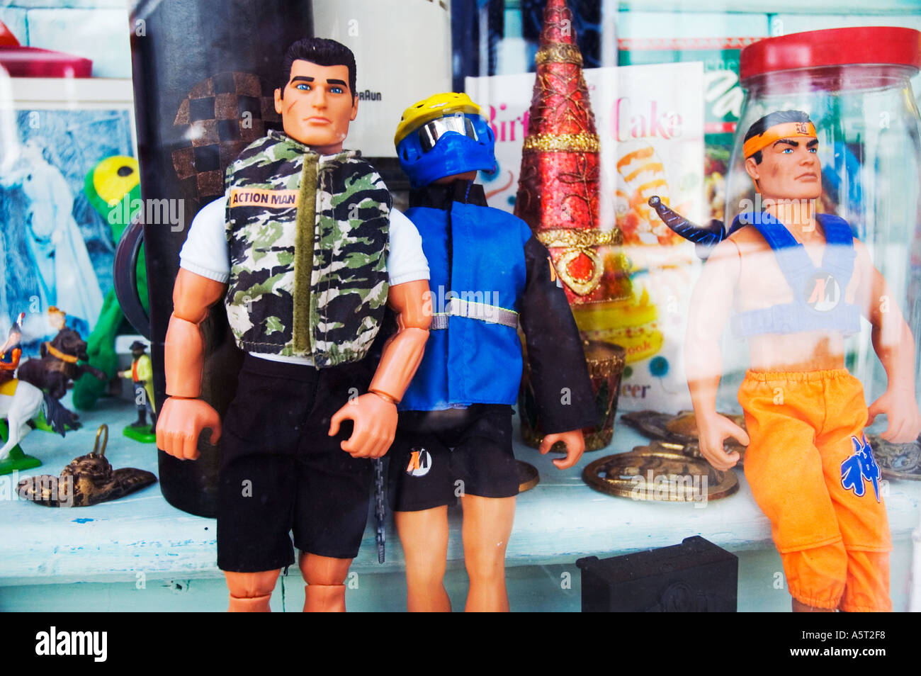 Action man toy - Stock Image