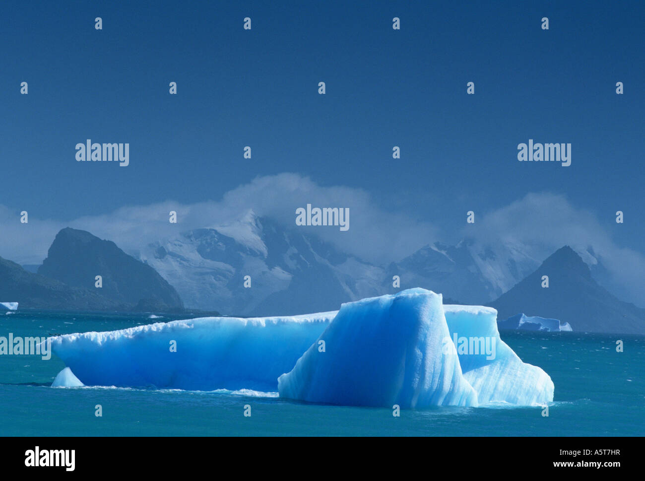 Iceberg in the South Orkney Islands Subantarctic - Stock Image