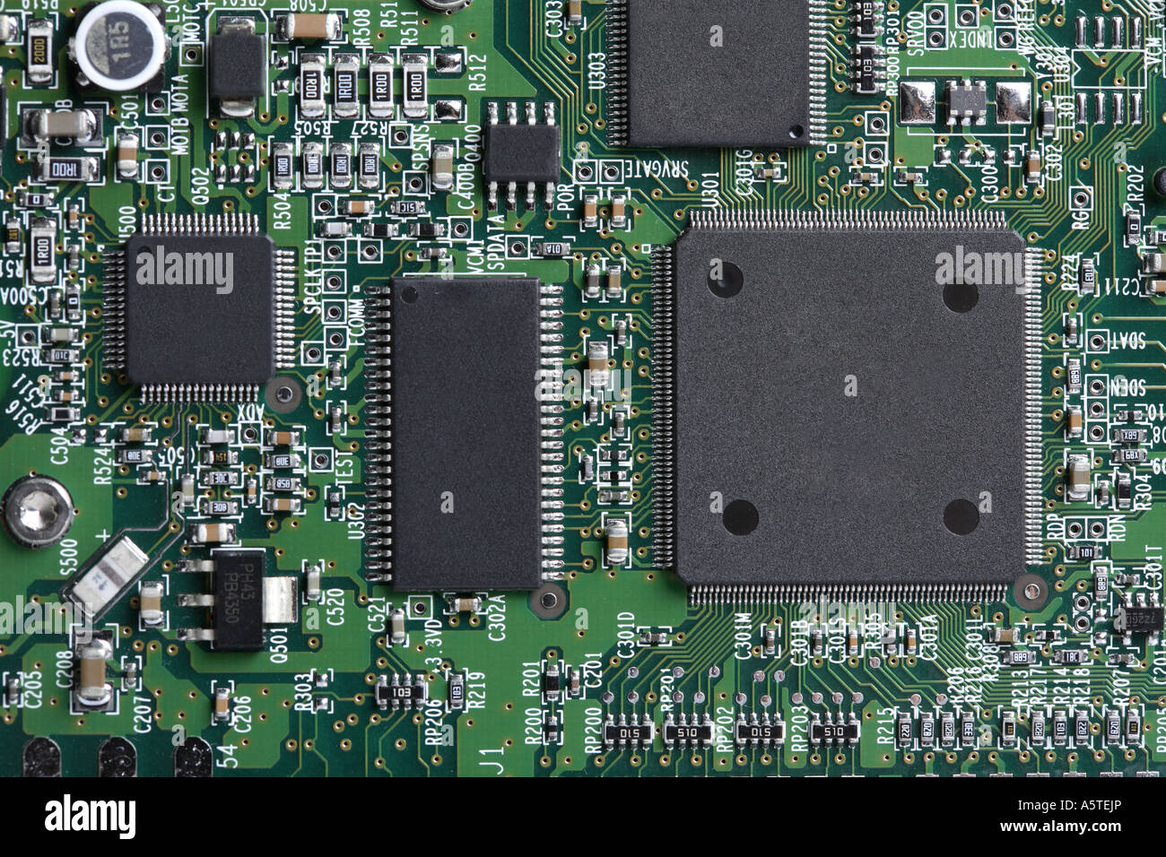 Computer Circuit Board - Stock Image