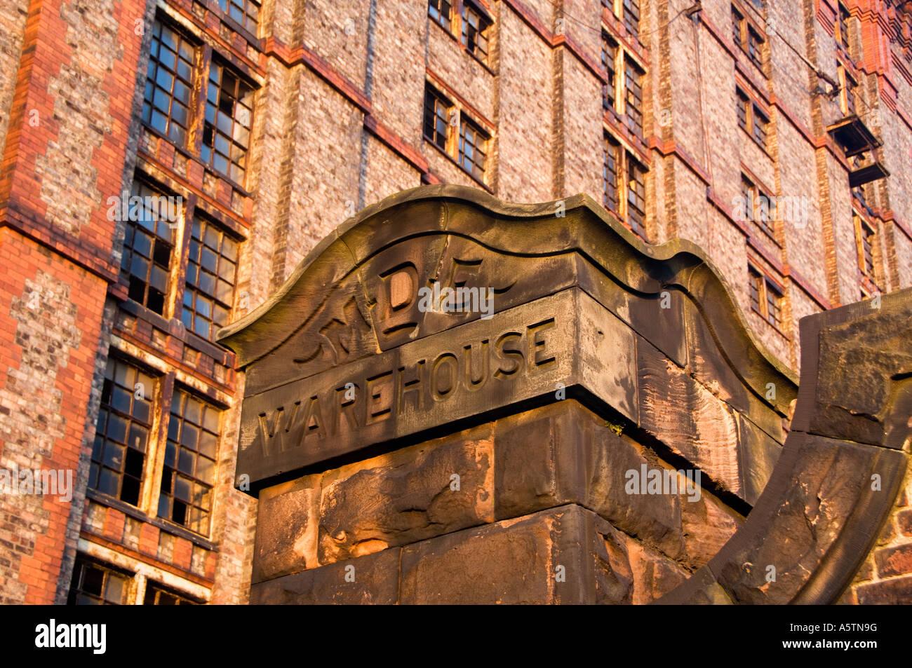 Old Tobacco Warehouse, Stanley Dock, Liverpool, Merseyside, England, UK Stock Photo