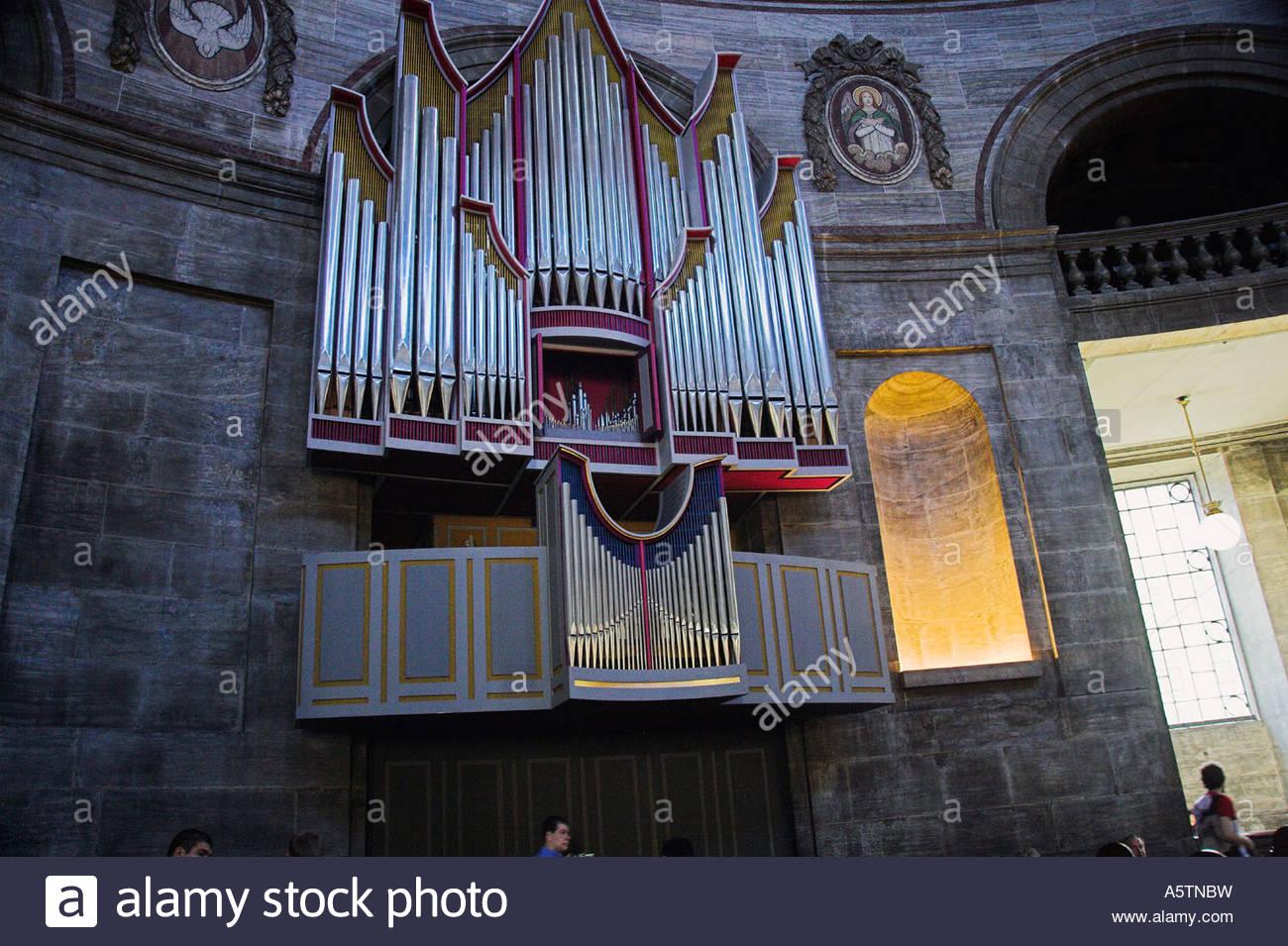 Copenhagen / Frederik's Church  - Stock Image