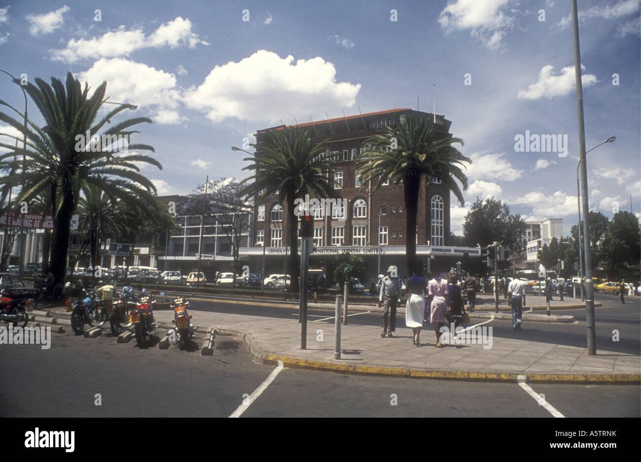 National Grindlays Bank International Kenya Limited Nairobi Kenya East Africa - Stock Image