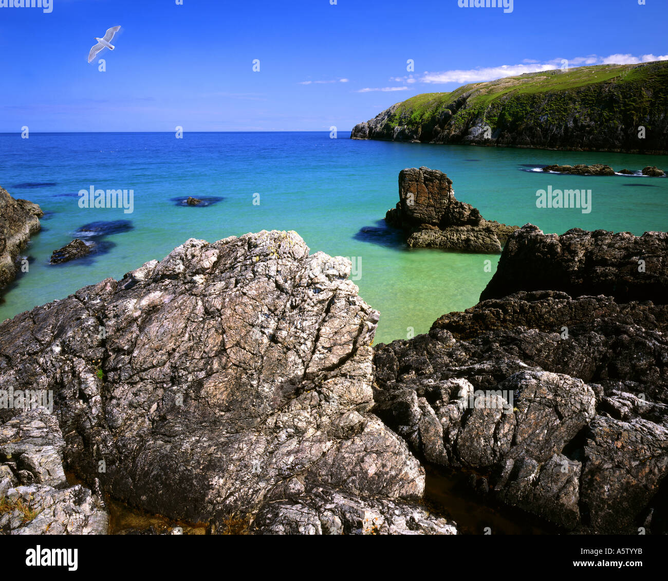 GB - SCOTLAND:  Sango Bay near Durness in the Highlands - Stock Image