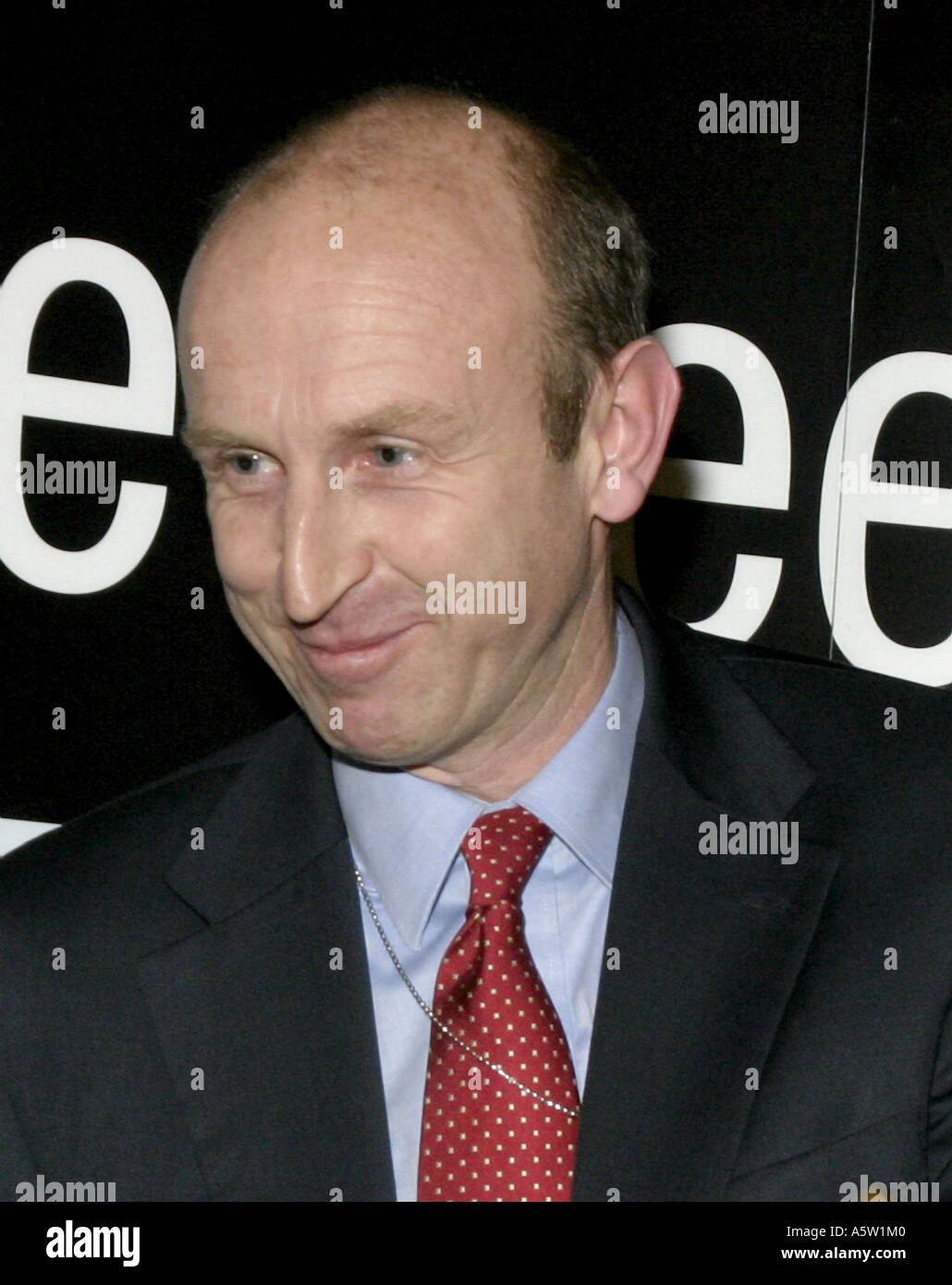 John Healey.Labour MP for Wentworth and Financial Secretary at the Treasury.Portrait.2005 - Stock Image