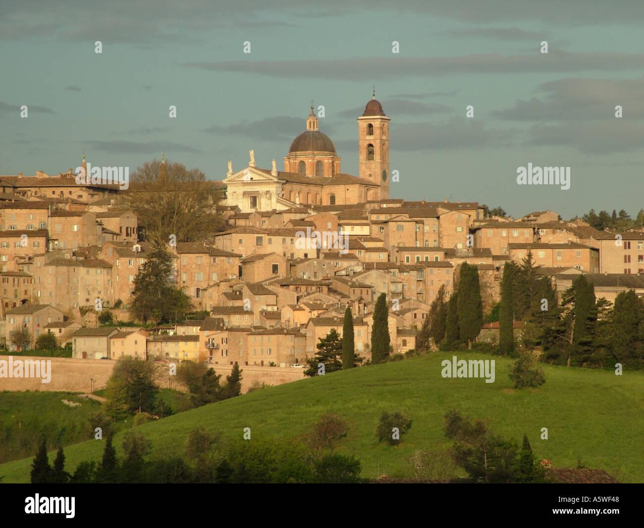 AJD36512, Marche, Italy, Urbino, Europe - Stock Image