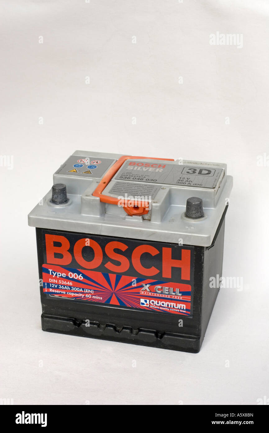 Bosch Silver Lead Acid 12 Volt 36a Amp Hour Car Battery Uk Stock
