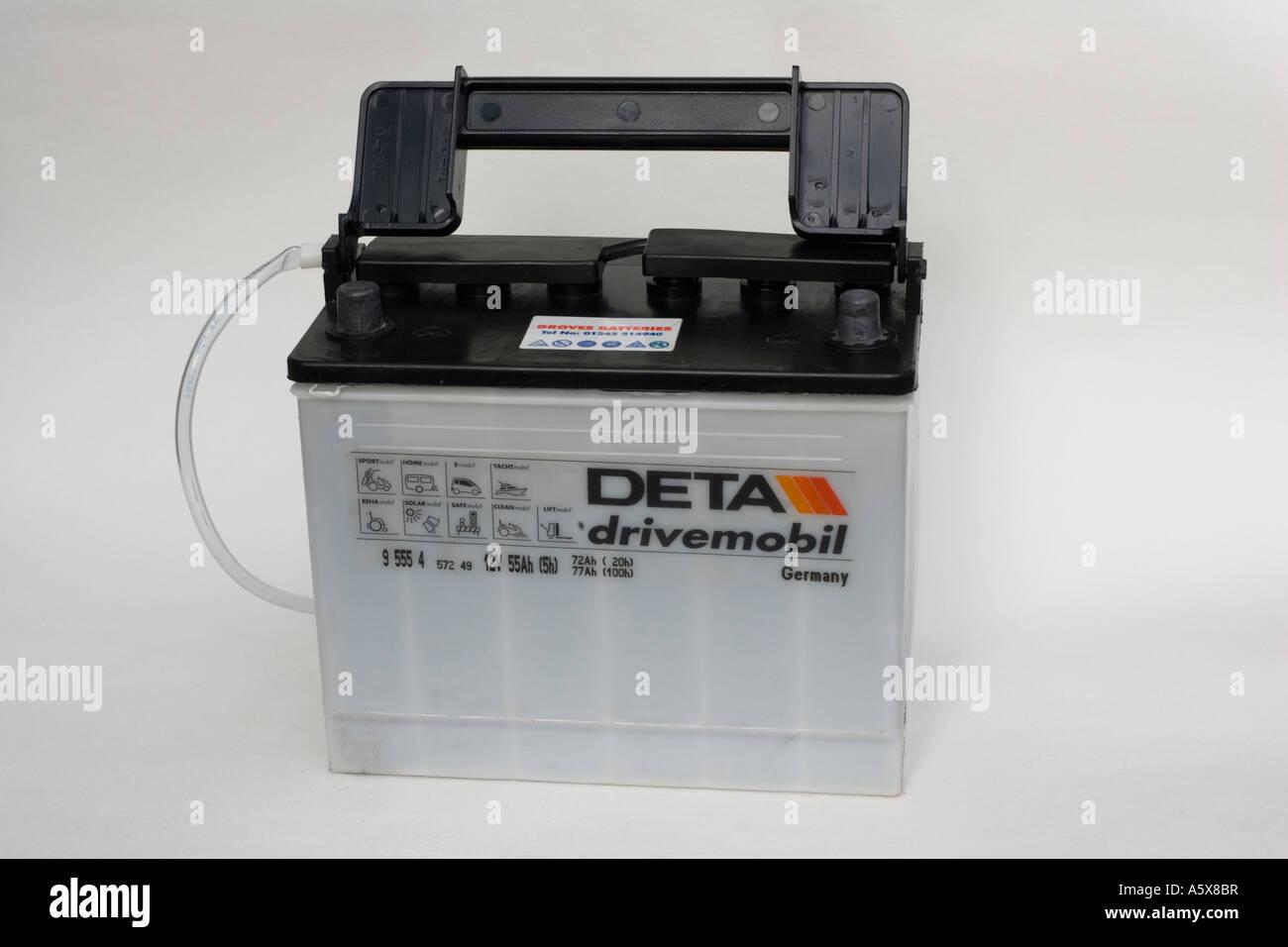 Deta Drivemobil German Lead Acid 12 Volt 55 Amp Hour Car Battery Uk