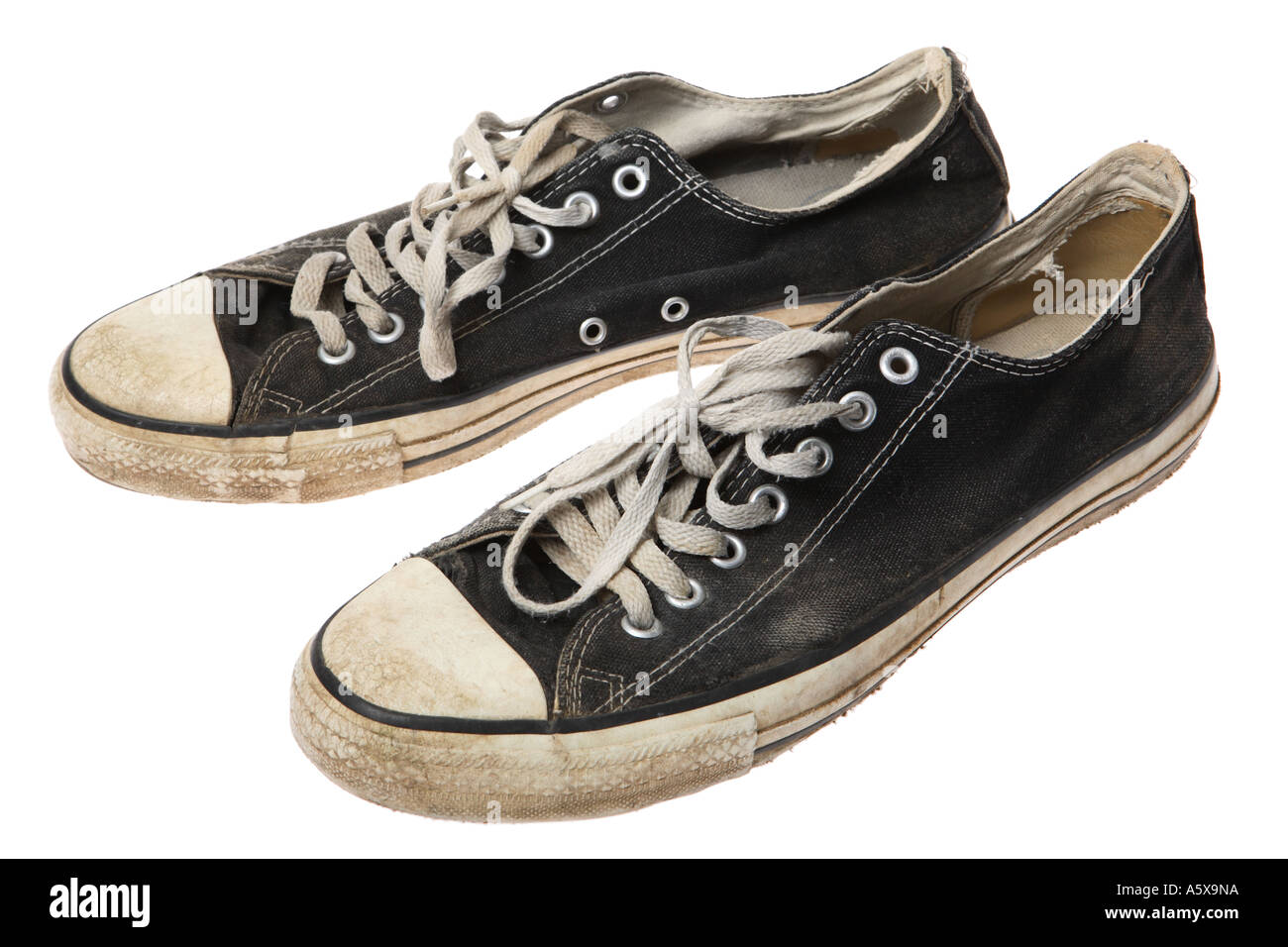 Old sneakers - Stock Image