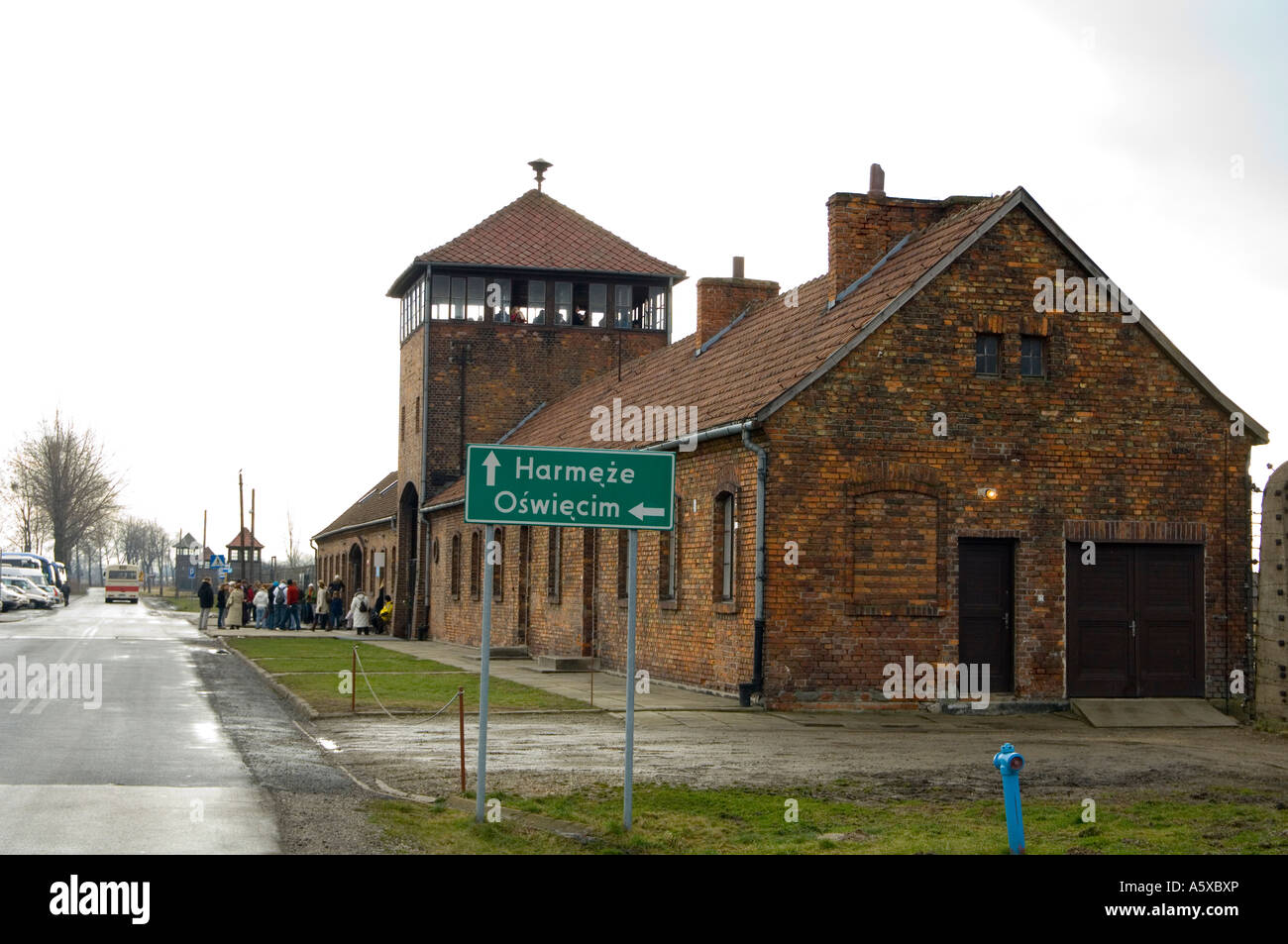 Auschwitz Museum Editorial Photo - Image: 31230211 |Concentration Camps Buildings