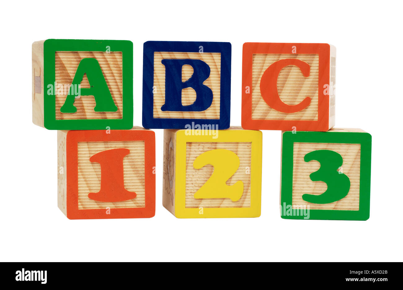 number and letter blocks stock photo 2125098 alamy