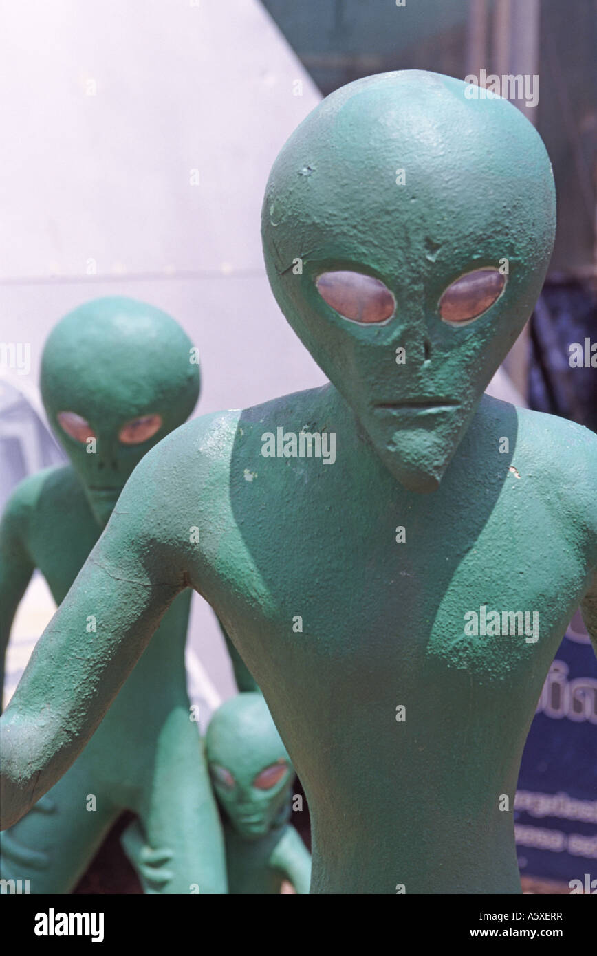 Aliens - Stock Image