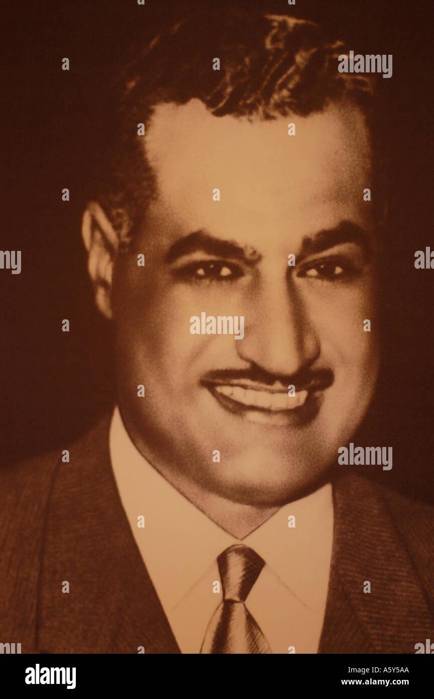 Gamal Abdel Nasser Egypt - Stock Image