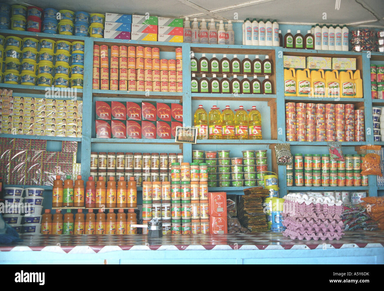 Market in Juba, South Sudan - Stock Image