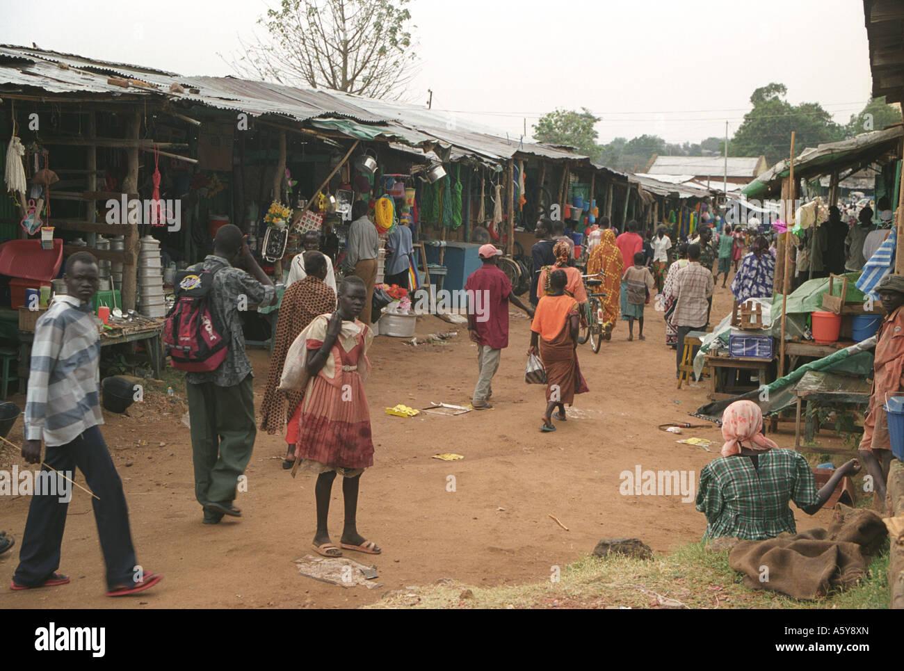Market, Juba, South Sudan - Stock Image