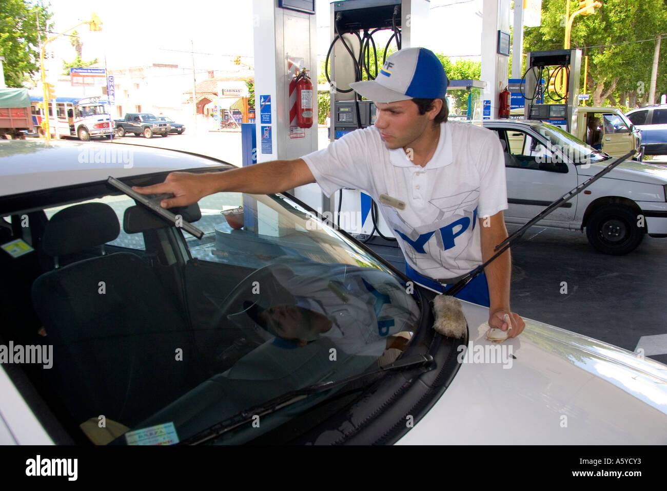 Gas Car Washing Station