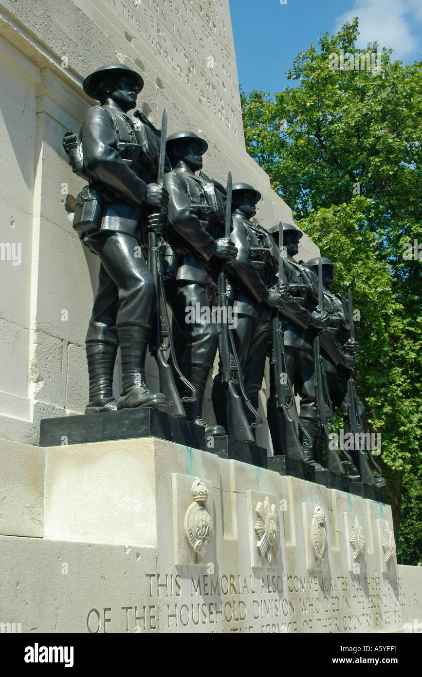 The Memorial to the Household Division Horseguards Parade London England Stock Photo
