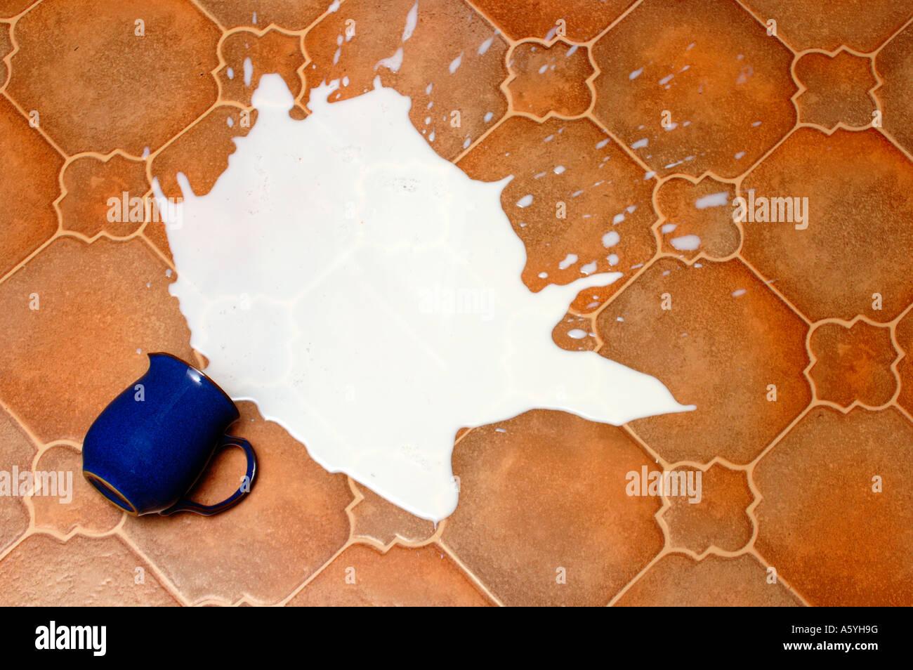 Spill Milk Accident Stock Photos & Spill Milk Accident