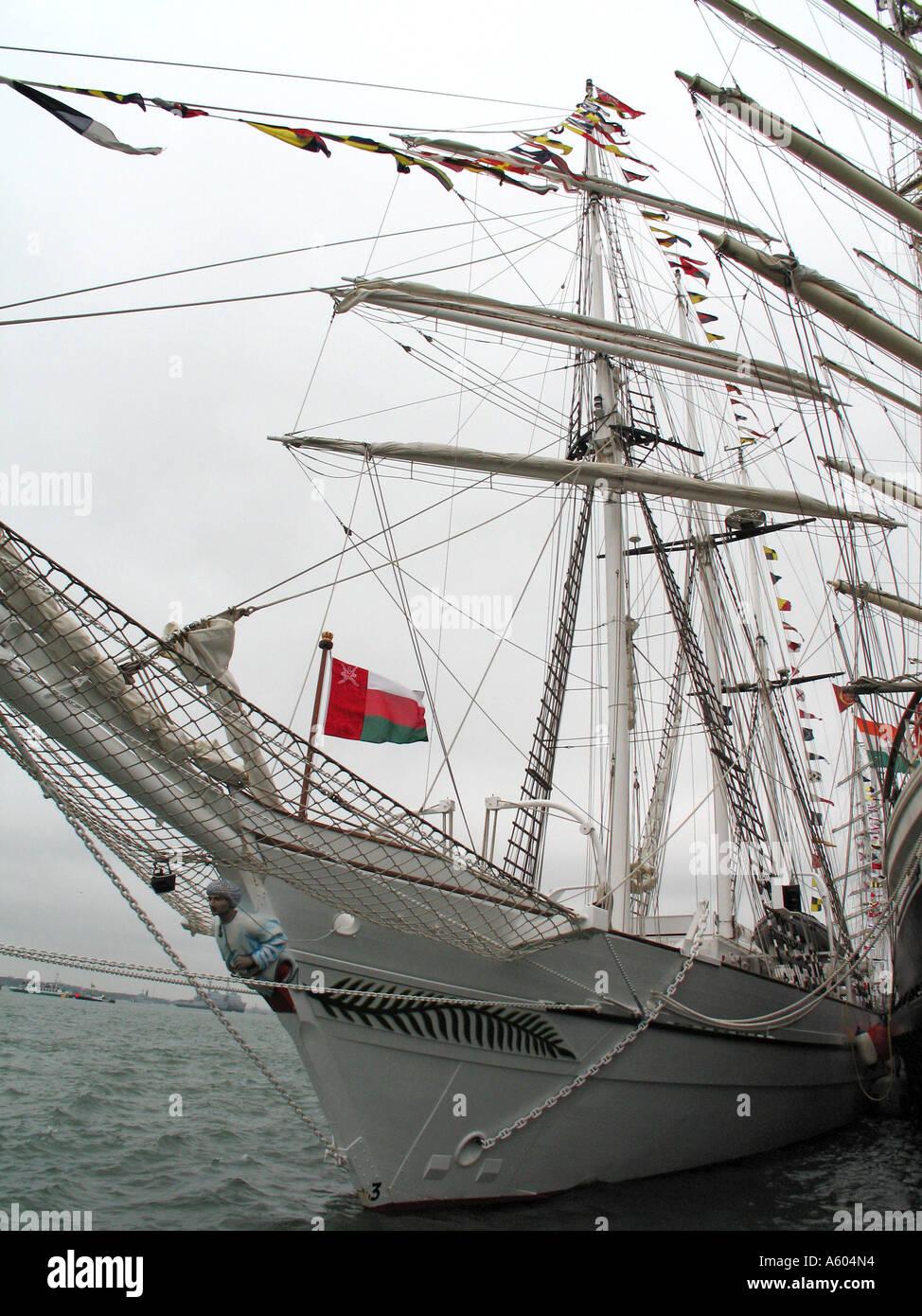 tall ship - Stock Image