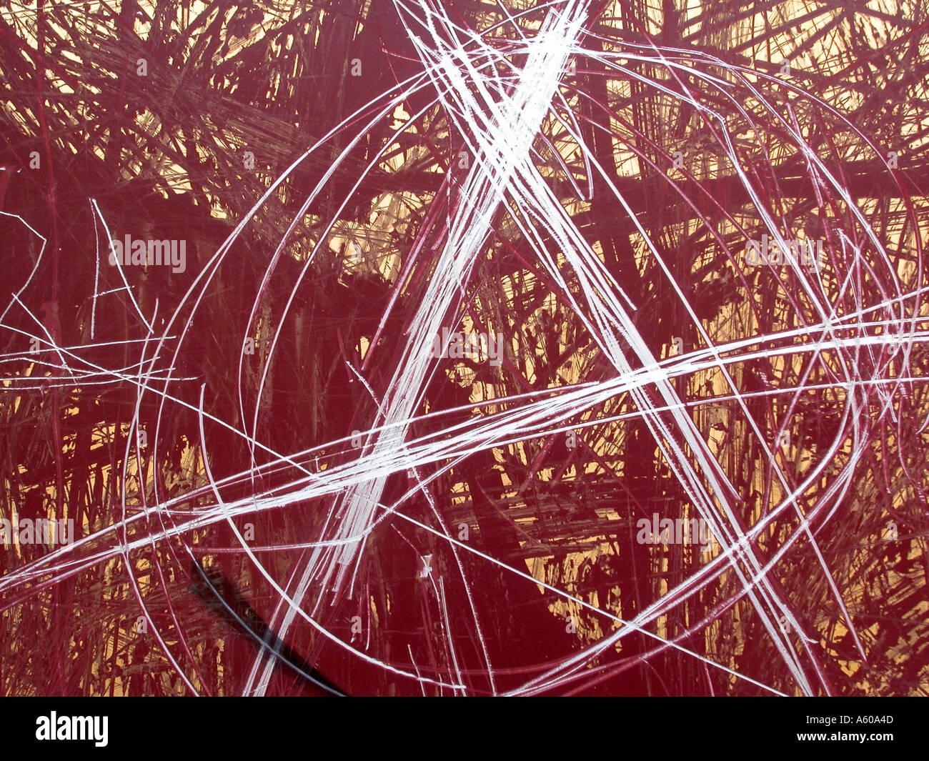 graffitti anarchism sign - Stock Image