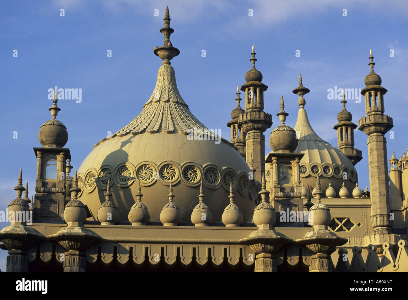 Royal Pavillon, domes and turrets, United Kingdom, England, East Sussex, Brighton Stock Photo