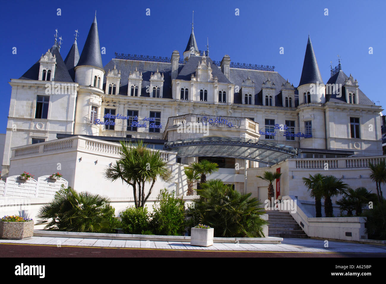 Casino, Arcachon, The Dordogne, France Stock Photo