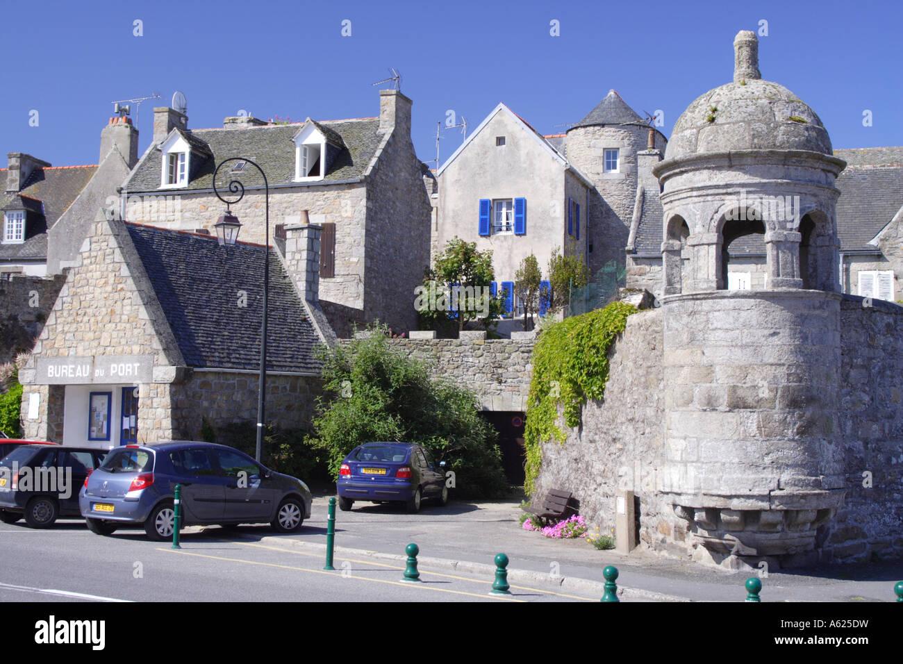 Roscoff, Brittany, France Stock Photo