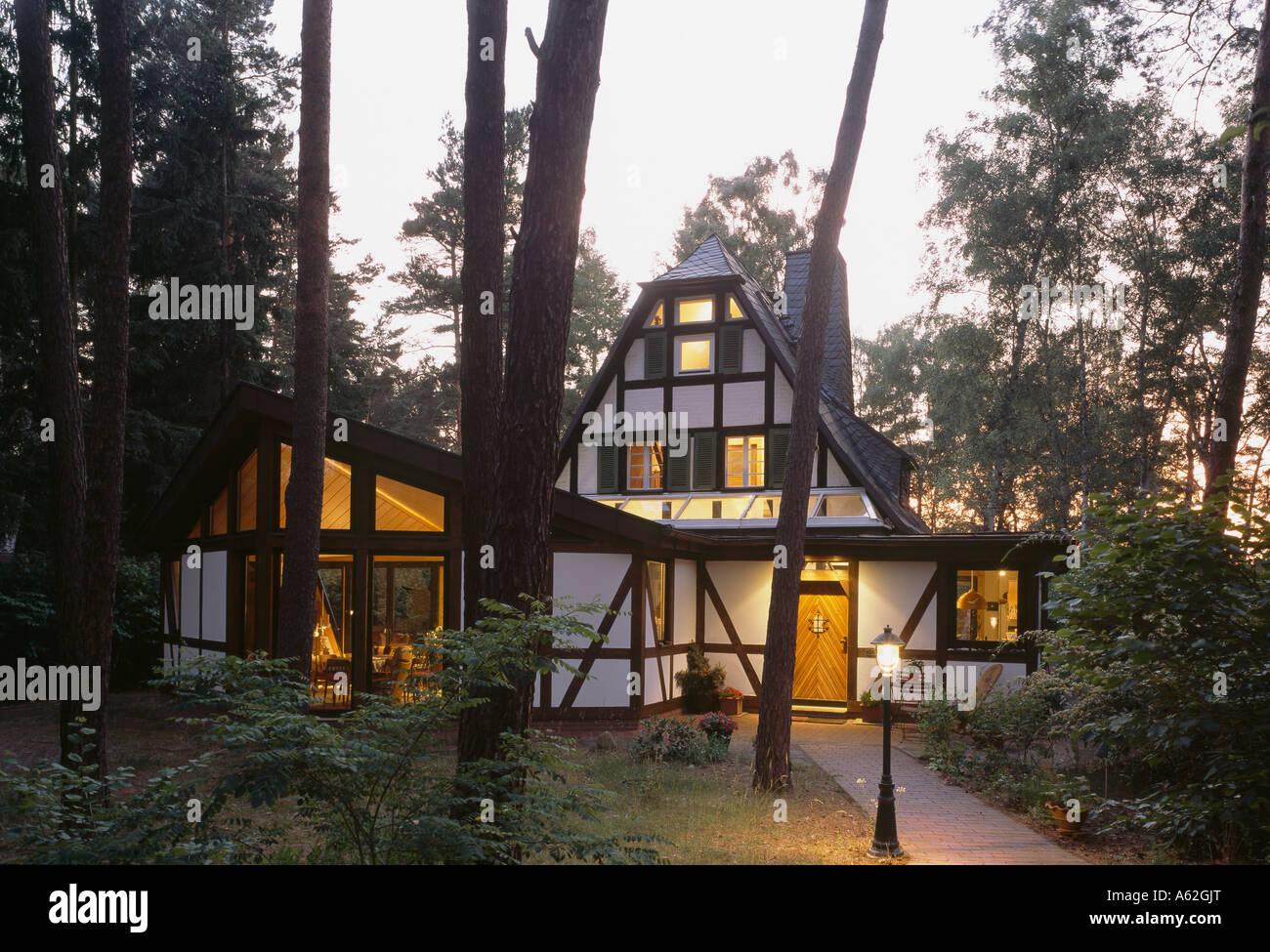 Prieros, Einfamilienhaus, Stock Photo