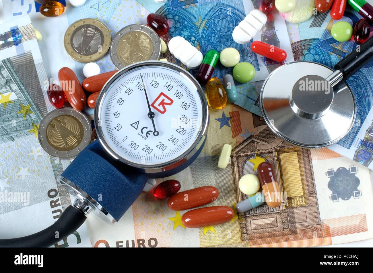 Treatment expenses  - Stock Image