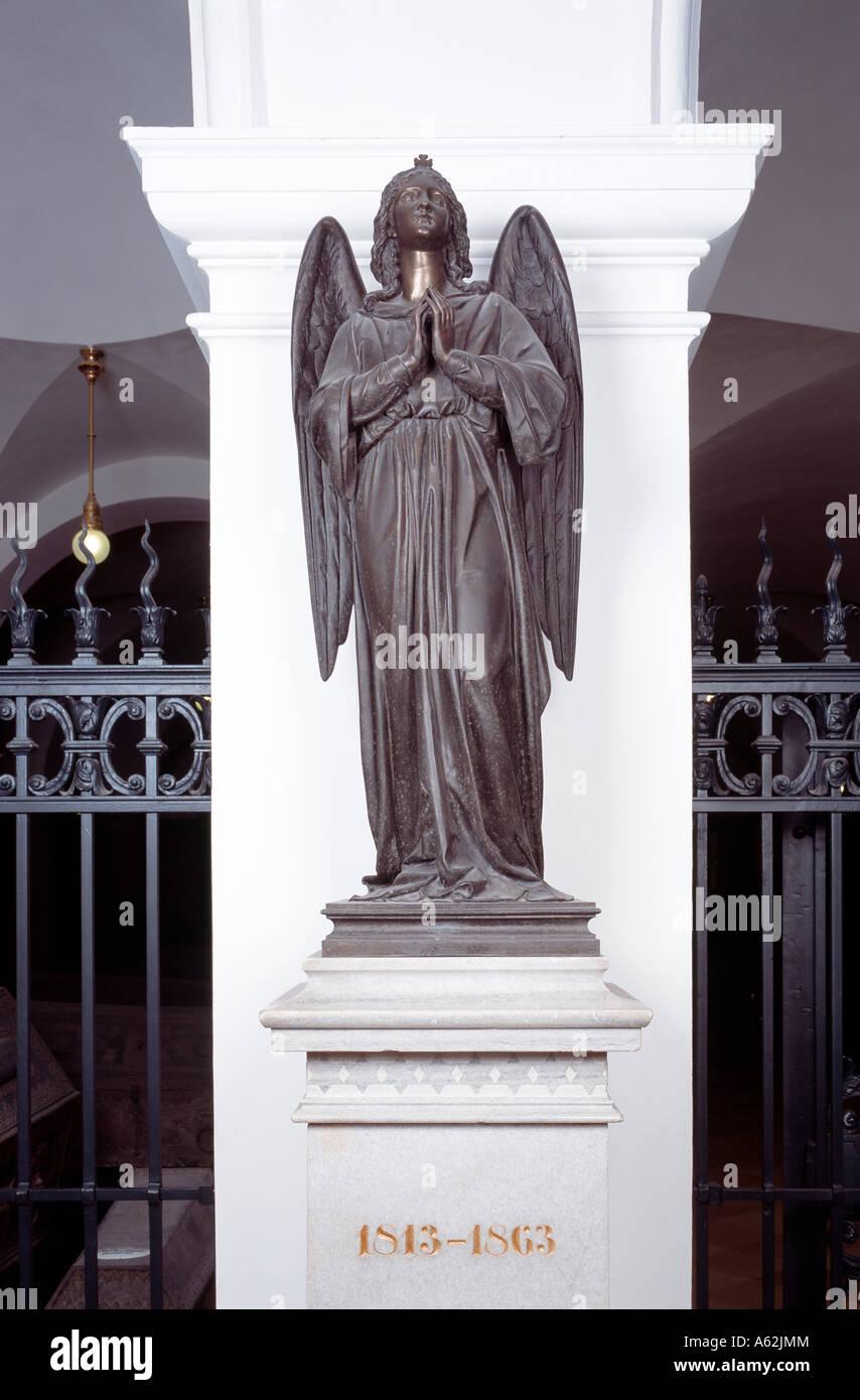 Berliner Dom, Hohenzollerngruft, '''Erinnerungsengel'' aus der Schule Rauch' - Stock Image