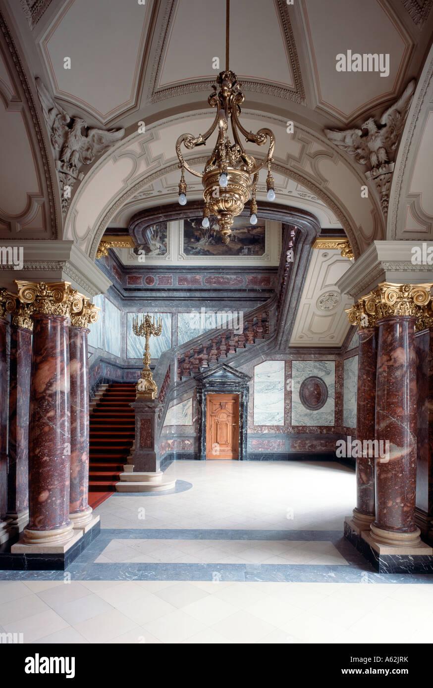 Berlin, Dom, Kaiserliches Treppenhaus - Stock Image
