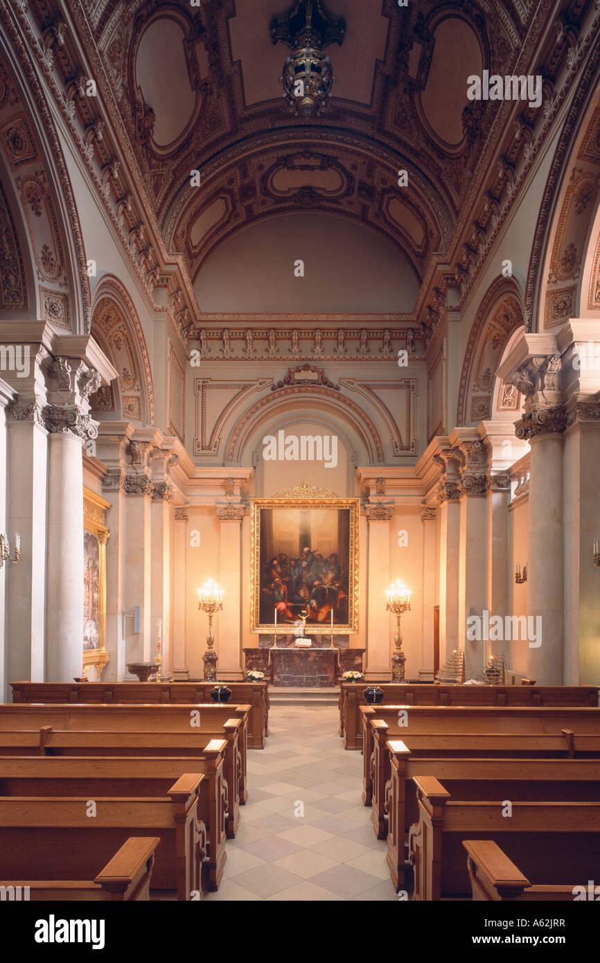 Berlin, Dom, Tauf- und Traukirche, Blick nach Osten - Stock Image