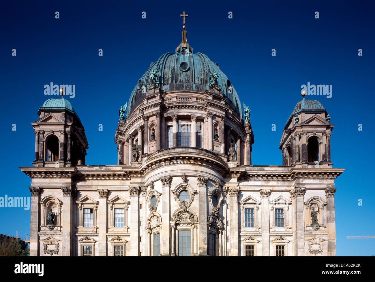 Berlin, Dom, Ostfassade - Stock Image