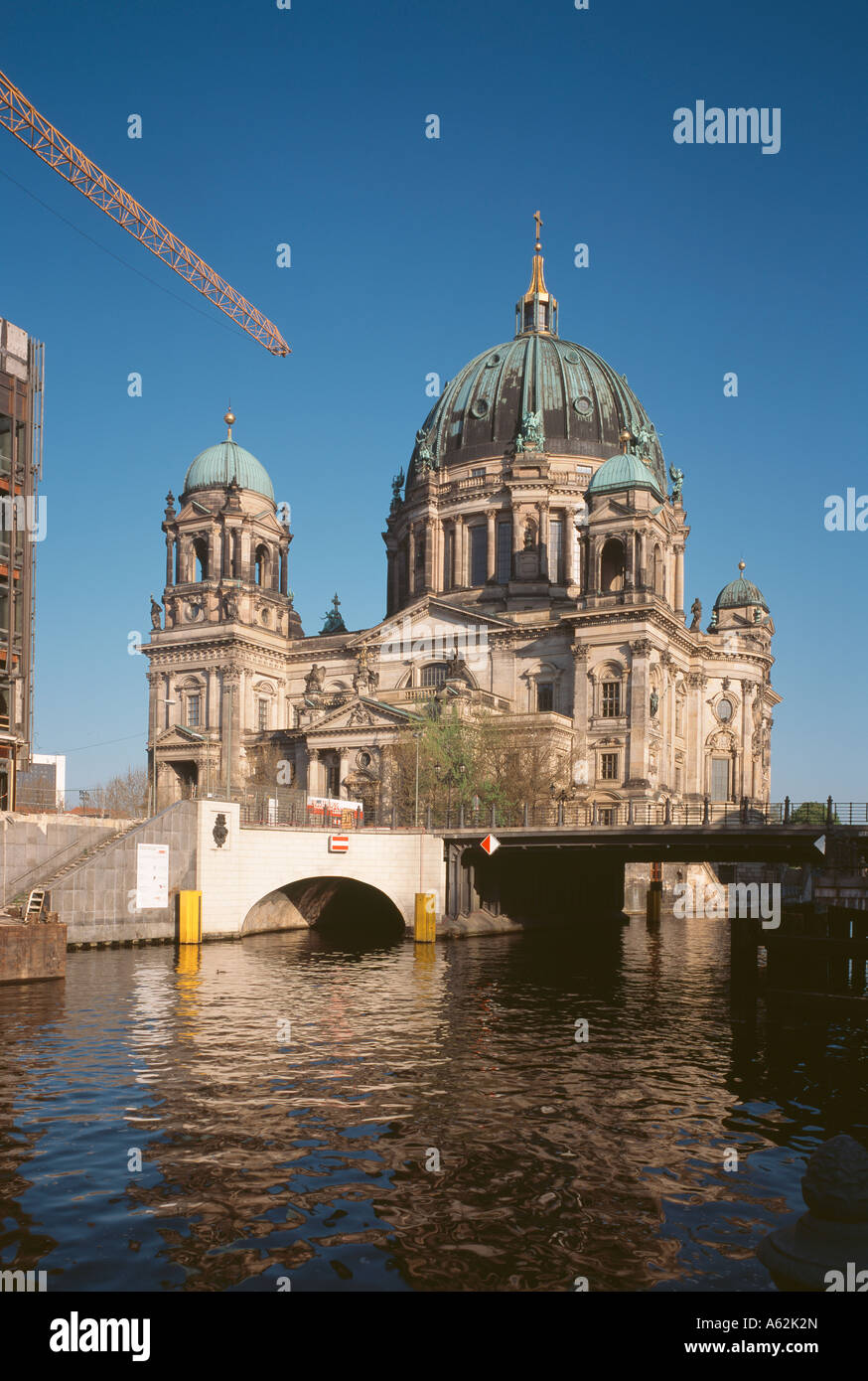 Berlin, Dom, Blick von Südosten - Stock Image