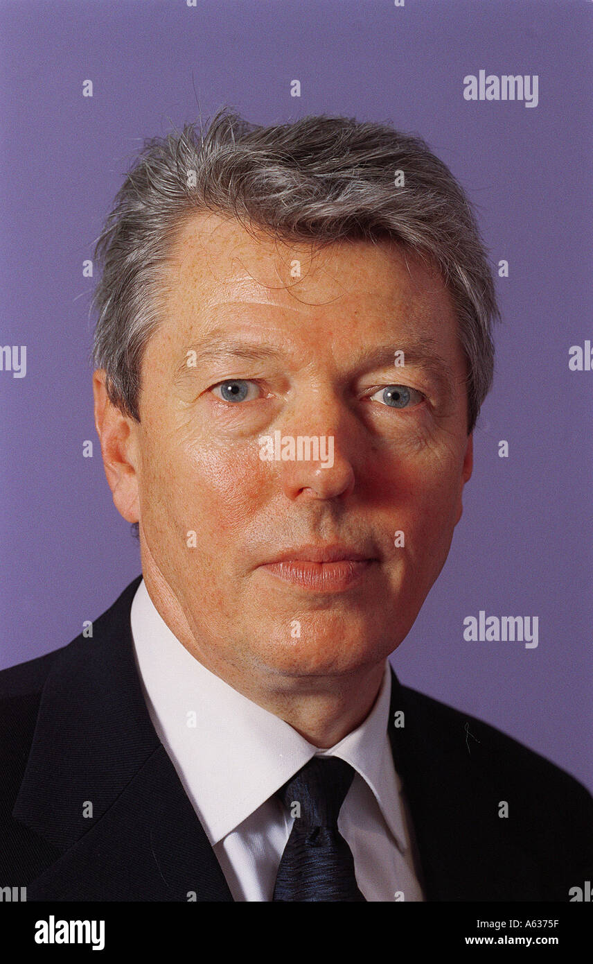 Alan Johnson MP Labour for Hull West and Hessle - Stock Image