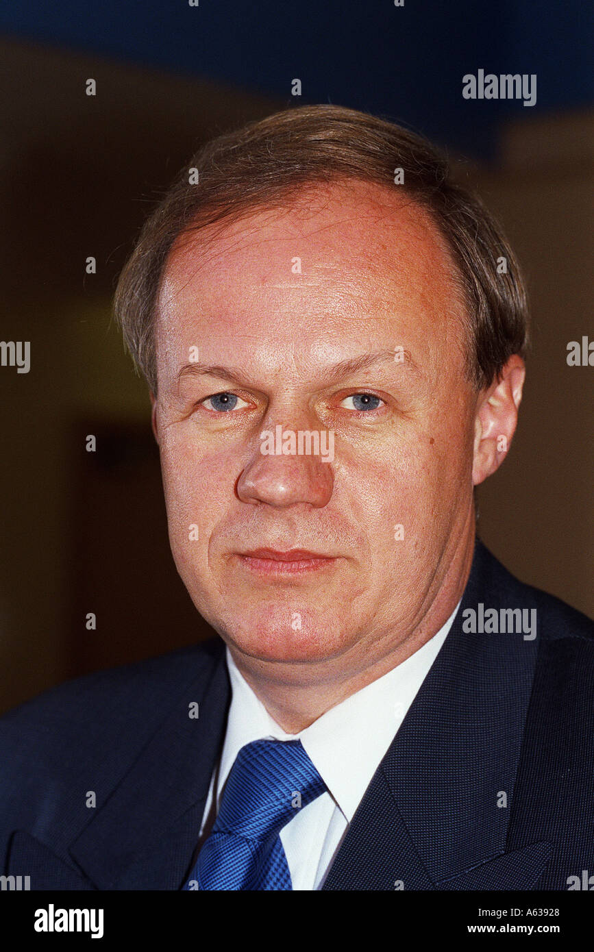 Damian Green MP Conservative forAshford seen at the Conservative Party Conference Blackpool 2001 - Stock Image