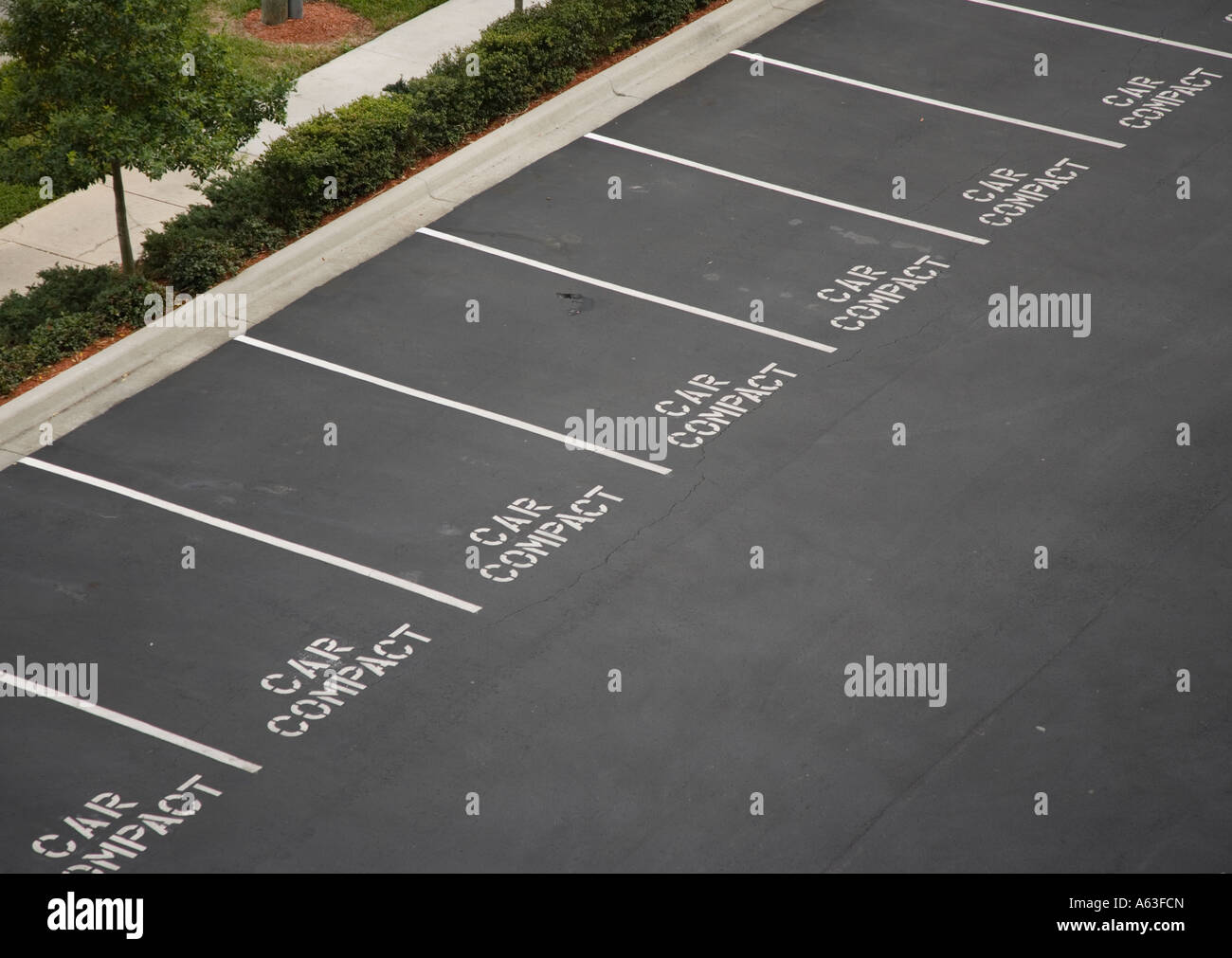 Parking spaces for compact cars Stock Photo: 11448452 - Alamy