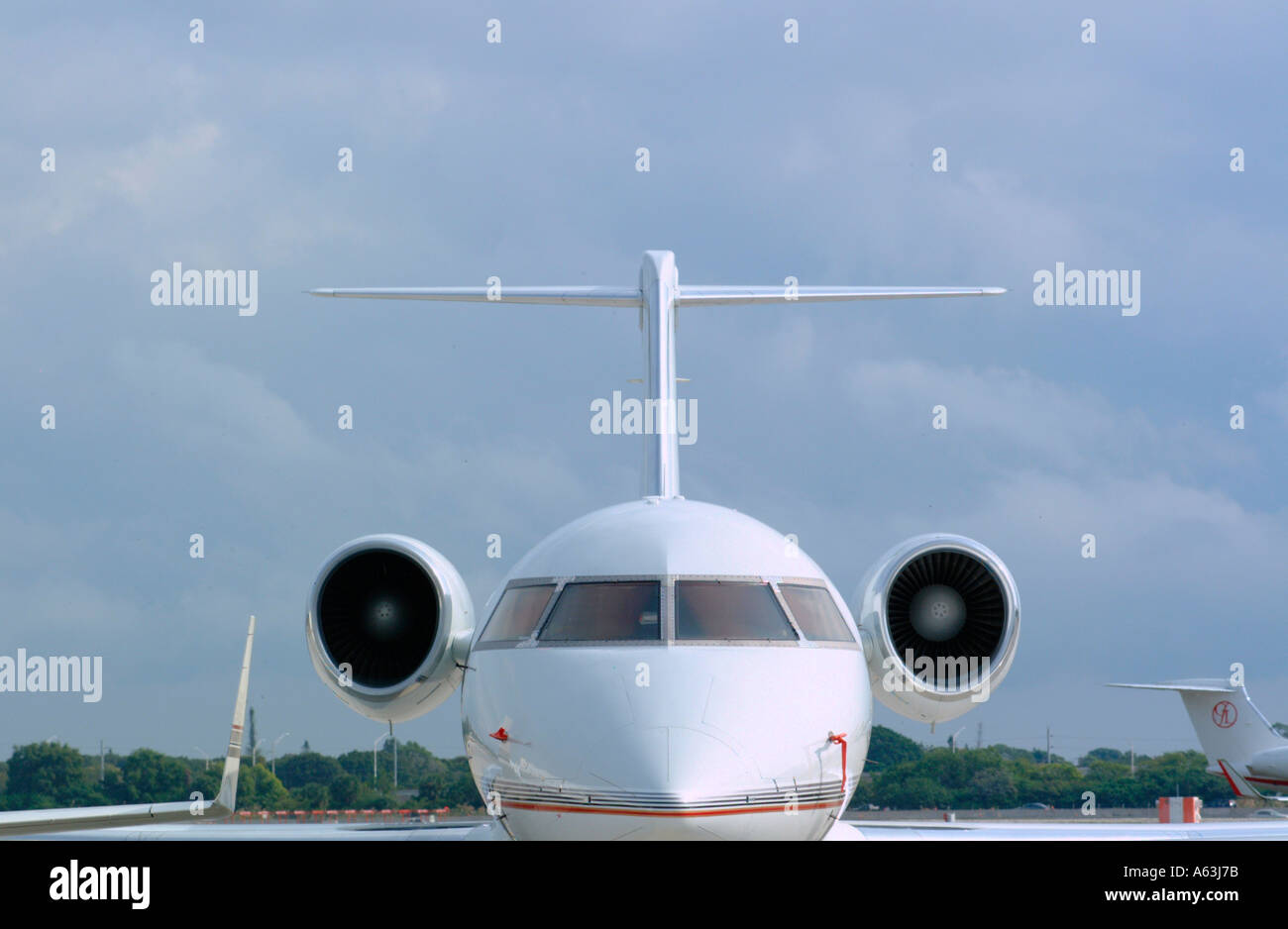 front view of jet aircraft airplanes transportation jets stock photo