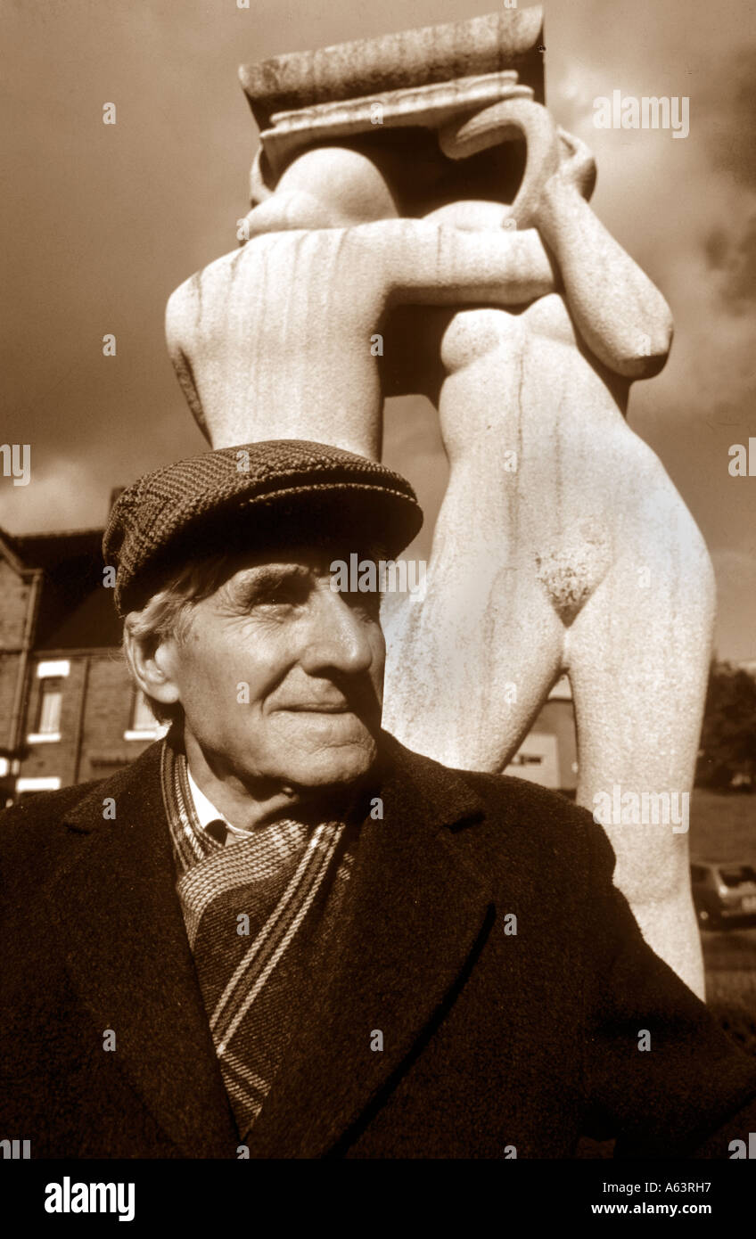 Portrait Of An Old Man - Stock Image