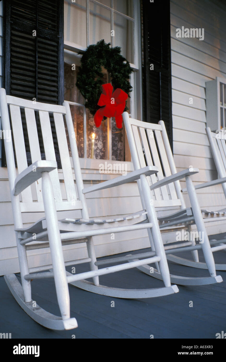 Super Texas Salado Christmas Decorations And White Wooden Rocking Machost Co Dining Chair Design Ideas Machostcouk