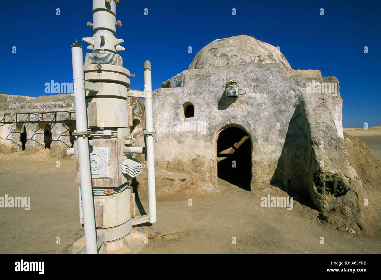Tunisia Tozeur Onk Jemal Star Wars Set Stock Photo Alamy